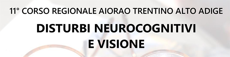 Disturbi neurocognitivi e visione