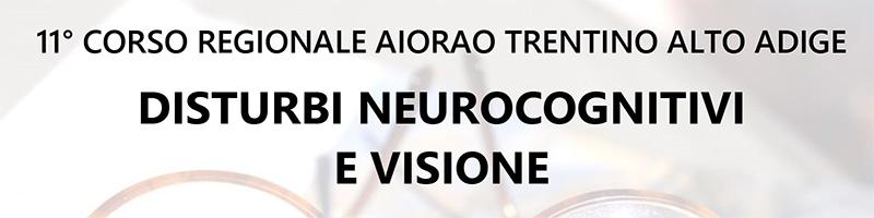 Disturbi neurocognitivi e visione