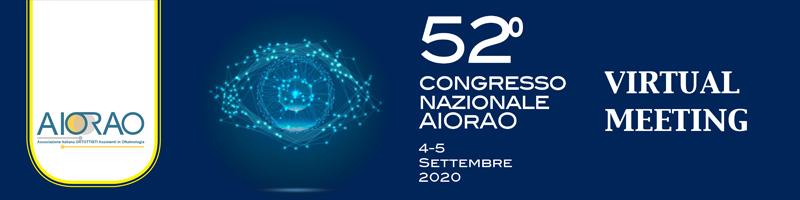 52° Congresso Nazionale AIOrAO