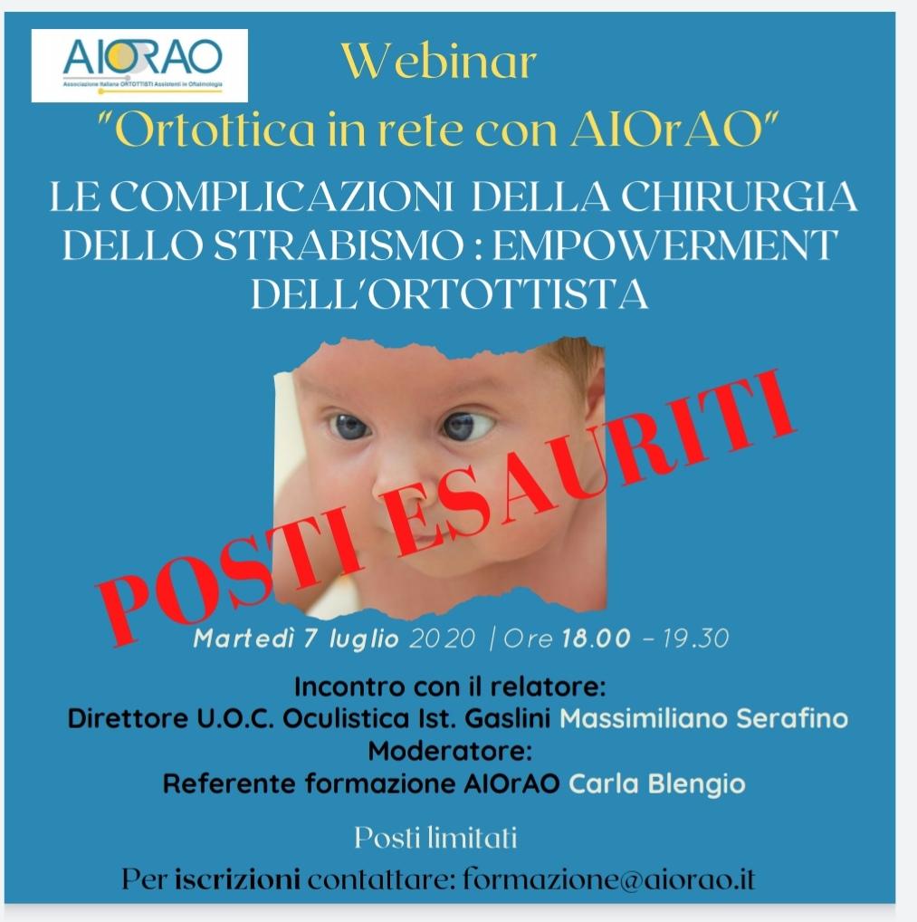 Webinar con Massimiliano Serafino