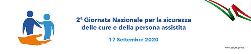 Seconda Giornata nazionale per la sicurezza delle cure e della persona assistita